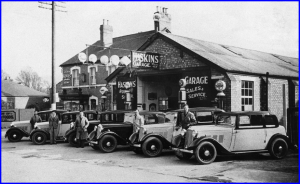 1934 Haskins garage