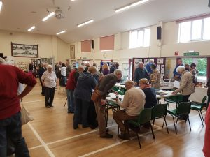 The May 6th exhibition in full swing