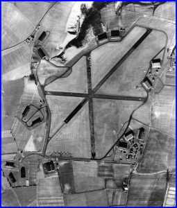 Aerial view of the airfield in 1941