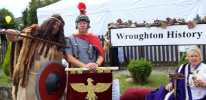 The group celebrated the discovery of Romans in Wroughton at the 2019 carnival